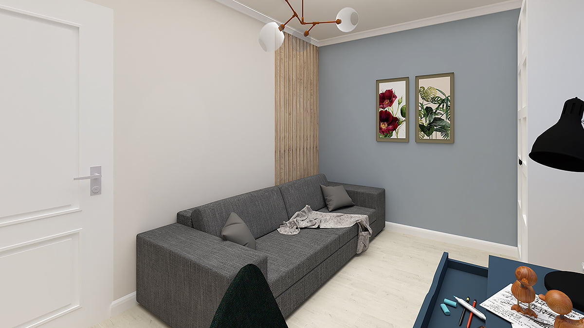 West concept, design interior