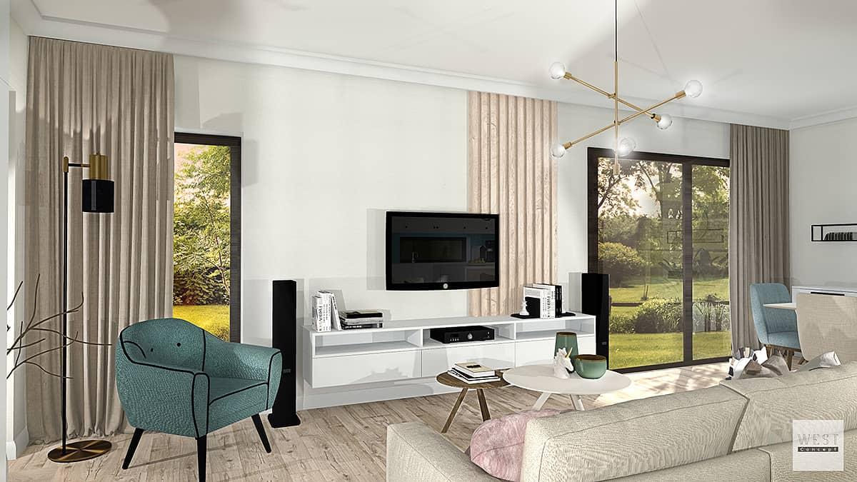West concept, design interior